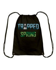 Trapped: Spring Another Debut Drawstring Bag thumbnail