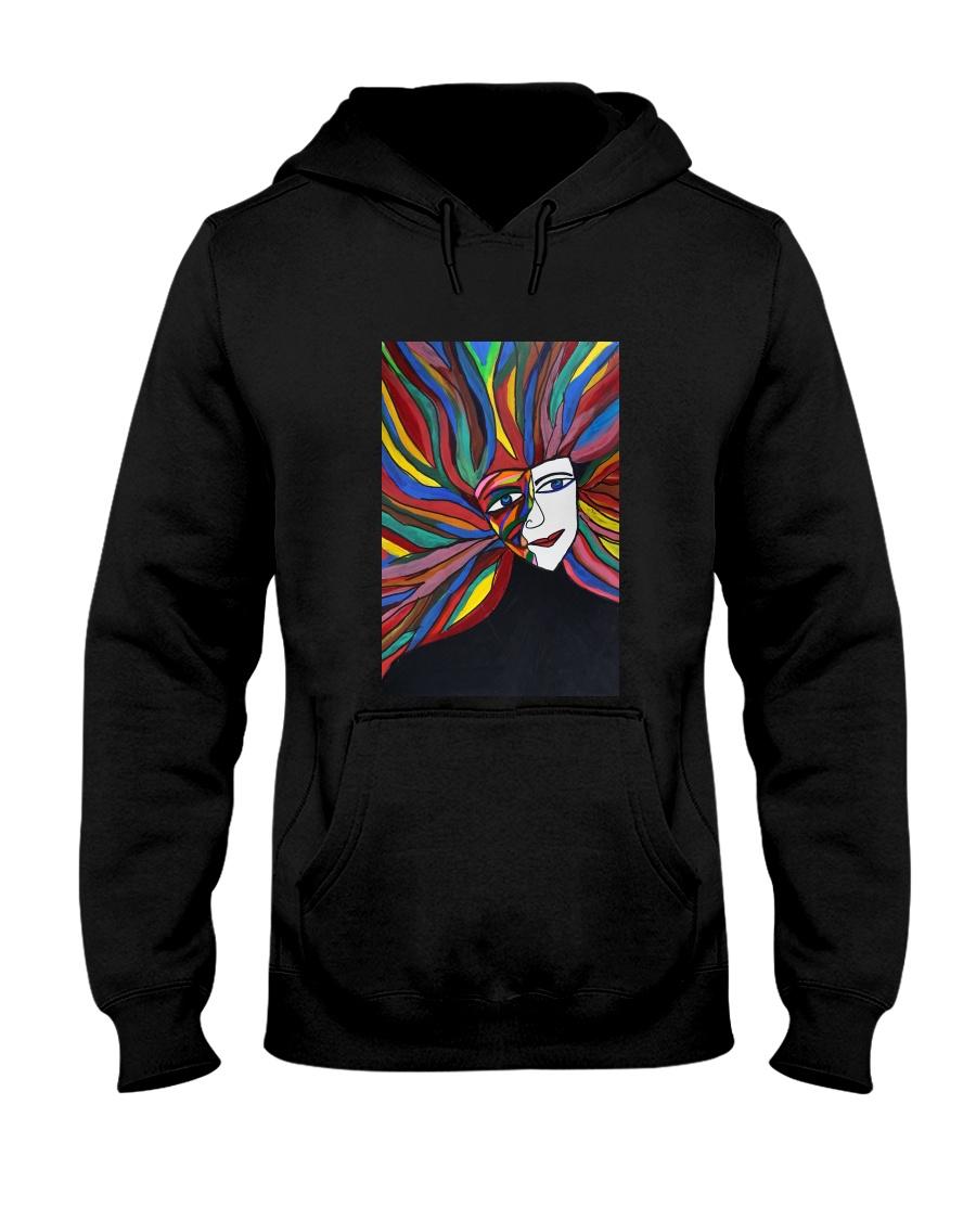 Vivid Hooded Sweatshirt