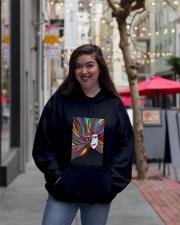 Vivid Hooded Sweatshirt lifestyle-unisex-hoodie-front-2