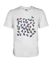 Ecstasy V-Neck T-Shirt tile