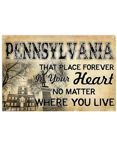 PENNSYLVANIA THAT PLACE FOREVER IN YOUR HEART
