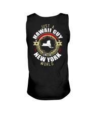 HAWAII GUY IN NEW YORK WORLD Unisex Tank thumbnail