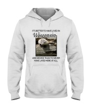 IT'S BETTER TO HAVE LIVED IN WISCONSIN Hooded Sweatshirt thumbnail