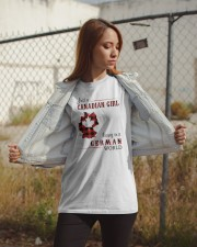 CANADIAN GIRL LIVING IN GERMAN WORLD Classic T-Shirt apparel-classic-tshirt-lifestyle-07