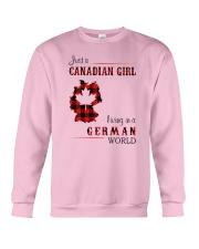 CANADIAN GIRL LIVING IN GERMAN WORLD Crewneck Sweatshirt thumbnail