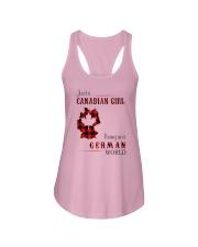 CANADIAN GIRL LIVING IN GERMAN WORLD Ladies Flowy Tank thumbnail