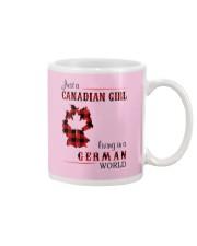 CANADIAN GIRL LIVING IN GERMAN WORLD Mug thumbnail