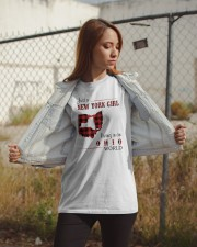 NEW YORK GIRL LIVING IN OHIO WORLD  Classic T-Shirt apparel-classic-tshirt-lifestyle-07
