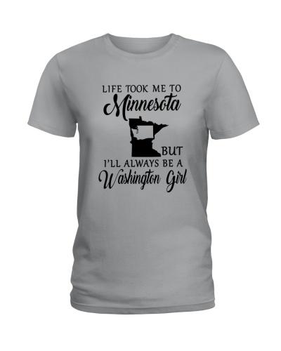 LIFE TOOK ME TO MINNESOTA ALWAYS A WASHINGTON GIRL