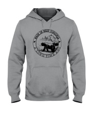 MADE IN WEST VIRGINIA A LONG TIME AGO Hooded Sweatshirt thumbnail