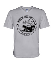 MADE IN WEST VIRGINIA A LONG TIME AGO V-Neck T-Shirt thumbnail