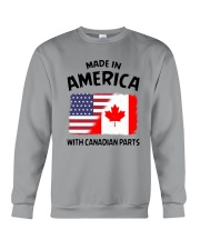 AMERICA WITH CANADIAN PARTS Crewneck Sweatshirt thumbnail