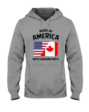 AMERICA WITH CANADIAN PARTS Hooded Sweatshirt thumbnail