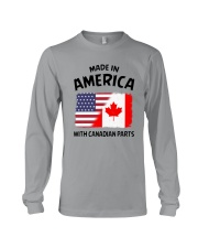 AMERICA WITH CANADIAN PARTS Long Sleeve Tee thumbnail