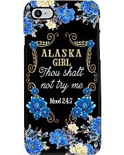 ALASKA GIRL THOU SHALT NOT TRY ME Phone Case i-phone-8-case