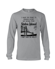FROM STATEN ISLAND I DON'T HAVE THE ABILITY Long Sleeve Tee thumbnail