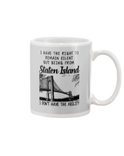 FROM STATEN ISLAND I DON'T HAVE THE ABILITY Mug thumbnail