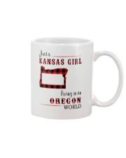 KANSAS GIRL LIVING IN OREGON WORLD Mug thumbnail