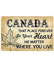 CANADA THAT PLACE FOREVER IN YOUR HEART 17x11 Poster front