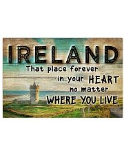 IRELAND THAT PLACE FOREVER IN YOUR HEART Horizontal Poster tile