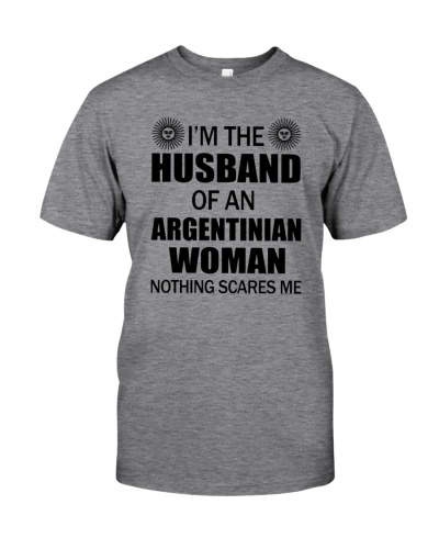 I'M THE HUSBAND OF AN ARGENTINIAN WOMAN