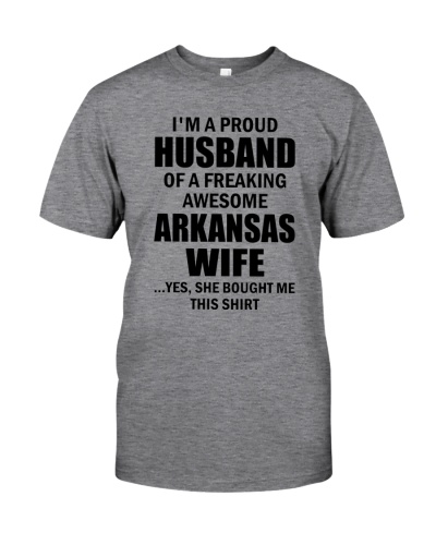 HUSBAND OF A FREAKING AWESOME ARKANSAS WIFE