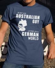 JUST AN AUSTRALIAN GUY LIVING IN GERMAN WORLD Classic T-Shirt apparel-classic-tshirt-lifestyle-28
