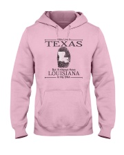 TEXAS BUT LOUISIANA IN MY DNA Hooded Sweatshirt thumbnail