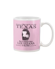 TEXAS BUT LOUISIANA IN MY DNA Mug thumbnail