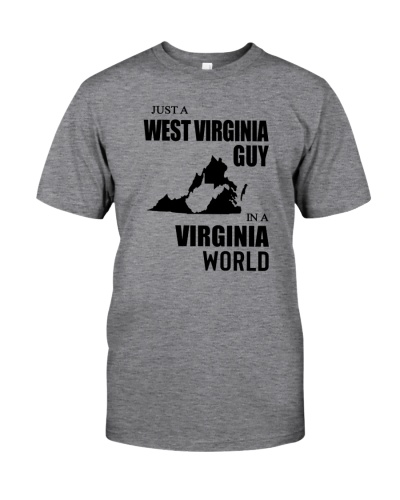 JUST A WEST VIRGINIA GUY IN A VIRGINIA WORLD