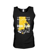 YOU CAN'T TAKE RHODE ISLAND OUT OF THE GIRL Unisex Tank thumbnail