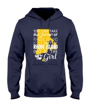 YOU CAN'T TAKE RHODE ISLAND OUT OF THE GIRL Hooded Sweatshirt thumbnail