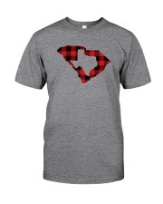 TEXAS IN SOUTH CAROLINA WORLD Classic T-Shirt front