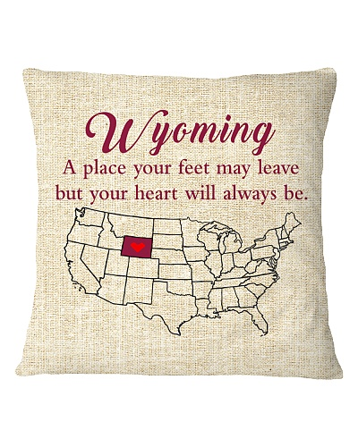 WYOMING A PLACE YOUR FEET MAY LEAVE
