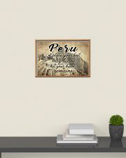 PERU A PLACE YOUR HEART REMAINS 24x16 Poster poster-landscape-24x16-lifestyle-09