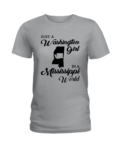 JUST A WASHINGTON GIRL IN A MISSISSIPPI WORLD