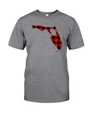 WISCONSIN IN FLORIDA WORLD Classic T-Shirt front