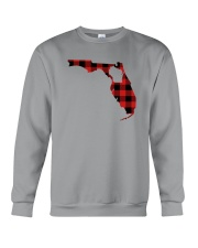 WISCONSIN IN FLORIDA WORLD Crewneck Sweatshirt thumbnail