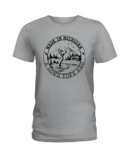 MADE IN MICHIGAN A LONG TIME AGO Ladies T-Shirt thumbnail