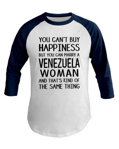 YOU CAN MARRY A VENEZUELA WOMAN BASEBALL TEE