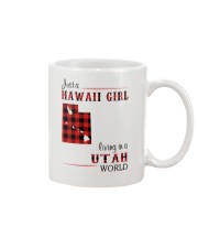HAWAII GIRL LIVING IN UTAH WORLD Mug thumbnail