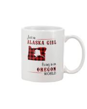 ALASKA GIRL LIVING IN OREGON WORLD Mug thumbnail