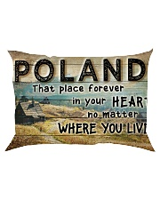 POLAND THAT PLACE FOREVER IN YOUR HEART Rectangular Pillowcase thumbnail