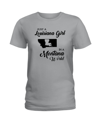 JUST A LOUISIANA GIRL IN A MONTANA WORLD