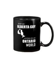 JUST AN ALBERTA GUY LIVING IN ONTARIO WORLD  Mug thumbnail