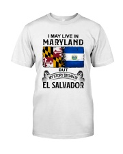 LIVE IN MARYLAND BEGAN IN EL SALVADOR Classic T-Shirt tile