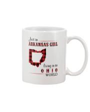 ARKANSAS GIRL LIVING IN OHIO WORLD Mug thumbnail