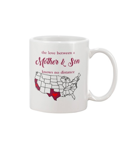 TEXAS CALIFORNIA THE LOVE MOTHER AND SON