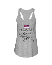 HAWAII IS CALLING AND I MUST GO Ladies Flowy Tank thumbnail