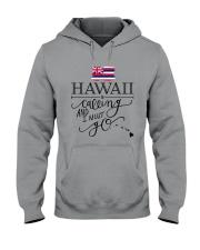 HAWAII IS CALLING AND I MUST GO Hooded Sweatshirt thumbnail